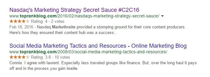 insite toprankblog.com Google Search