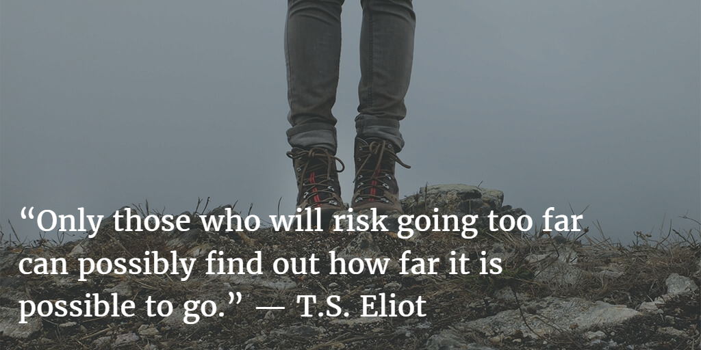 TS Eliot on Risk