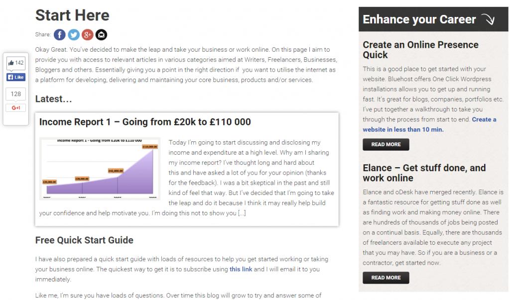 Work online blog
