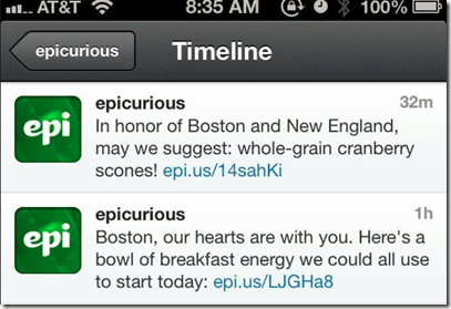 epicurious social media fail