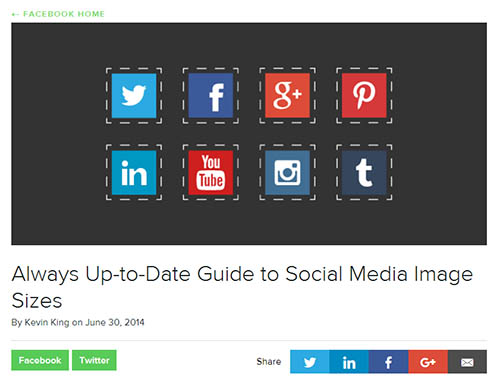 Sprout Social's Social Media Image Guide